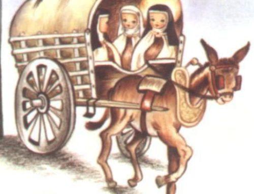 Teresa se despide de Burgos, un 26 de julio
