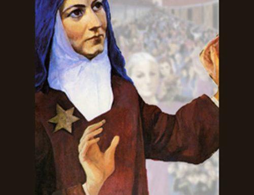 Santa Teresa Benedicta de la Cruz.