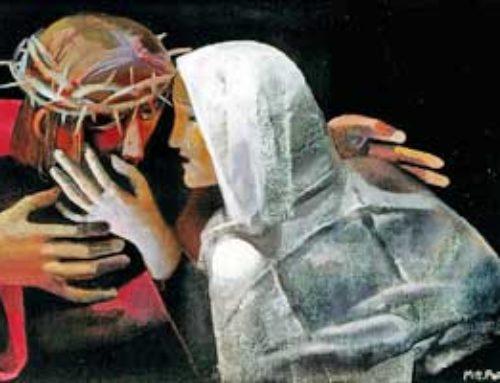 La palabra, traicionada en Getsemaní, levantada en el monte