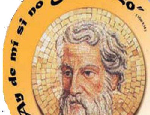 Memoria agradecida de Pablo de Tarso