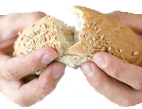 El pan partido con los pobres