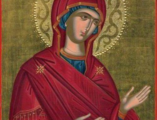 María nos invita a esperar