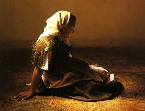 El rostro de la Inmaculada. Leves pinceladas