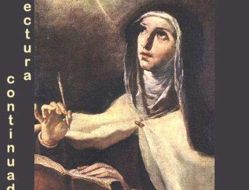 Días 14-19. Lectura continuada de Las Moradas de Santa Teresa