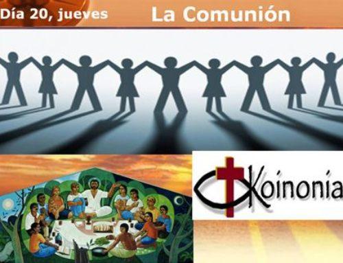Semana de Espiritualidad: LA COMUNIÓN