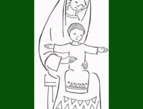 Encuentro de oración de los niños con María