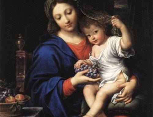 Un cuadro para orar: La Virgen de las uvas