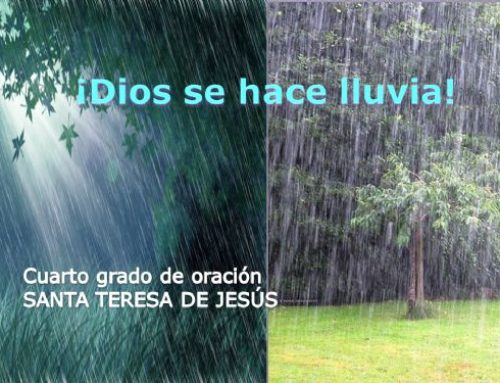 La lluvia: Cuarto modo de oración