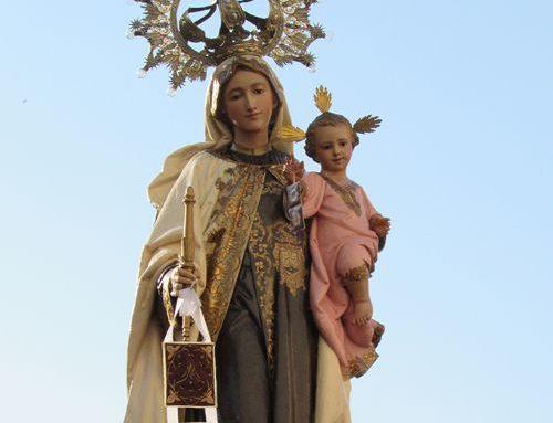 Festejamos a la virgen del Carmen