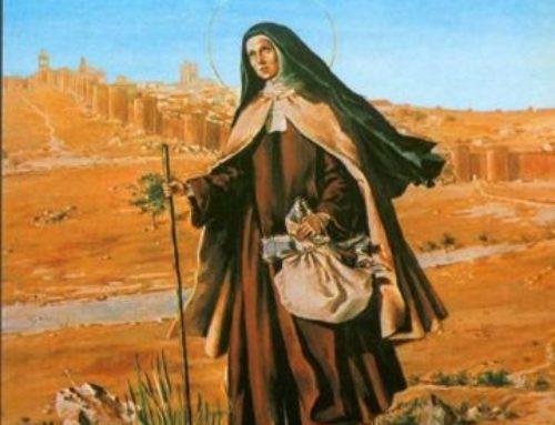 Teresa de Jesús, misionera, nos impulsa hoy a la misión