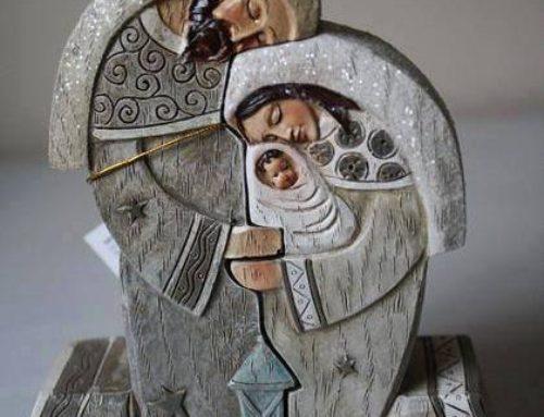 La Sagrada Familia: Jesús, María y José