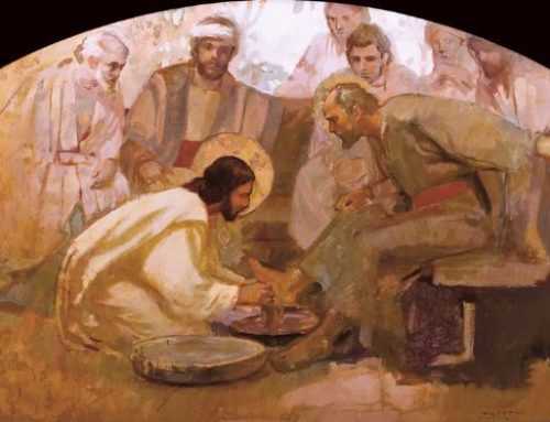 Jueves Santo: «El señor es mi amor»