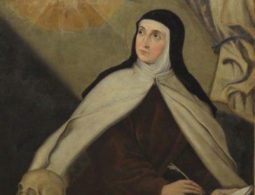 Teresa nos invita a estar con Jesús