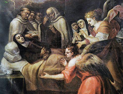 Muerte y glorificación de santa Teresa de Jesús