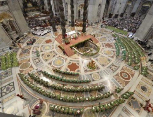 Papa Francisco el finalizar el sínodo