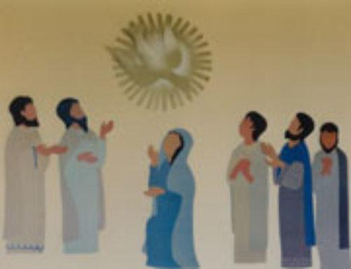 Jesús nos da su Espíritu