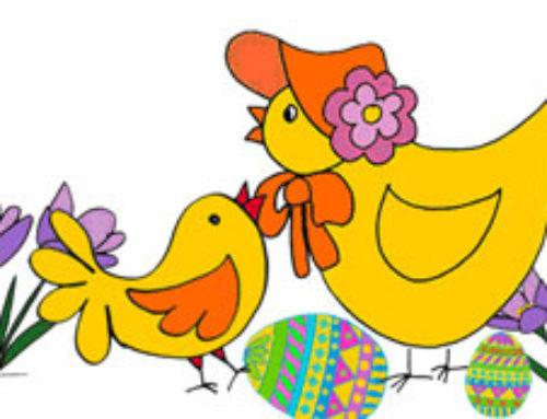 Decorar la Pascua con niños