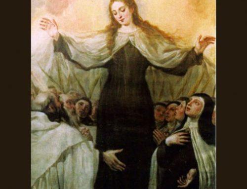 En camino con la Virgen María… Parecía ampararnos