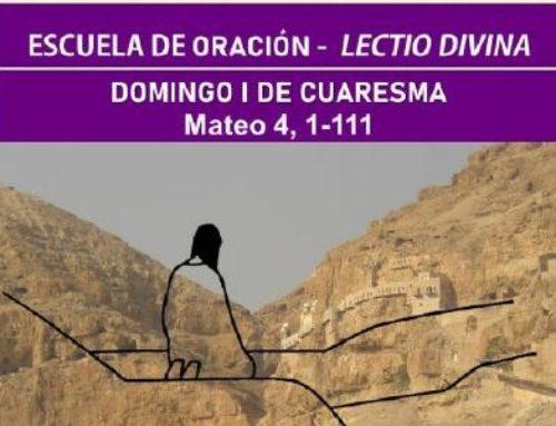 Lectio divina: Mateo 4, 1-11