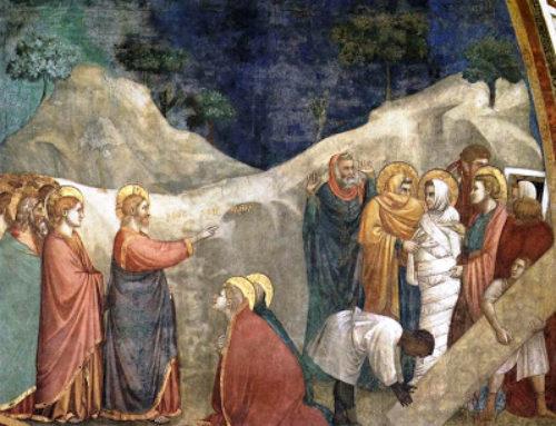 Lectio divina: Juan 11, 1-45 – V Domingo de Cuaresma