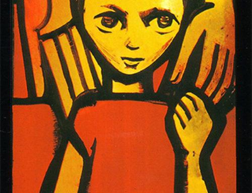 El Icono del pequeño Isaac, en una vidriera de Taizé