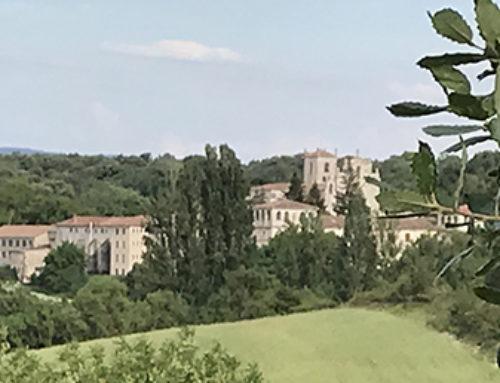 La visita a un monasterio