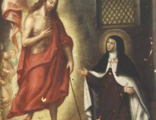Vigilia de oración en la fiesta de Santa Teresa, 14 de octubre. Iglesia del Carmen – Burgos