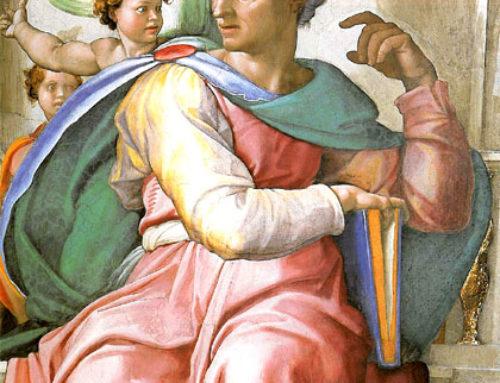 Figuras del Adviento: El Profeta Isaías