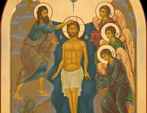 Orar el bautismo es oír en silencio la voz del amor